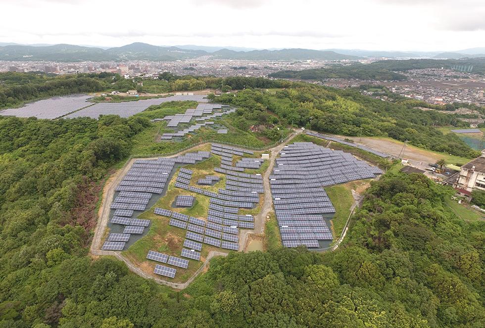 倉敷市向山第2太陽光発電所(太陽光発電事業)