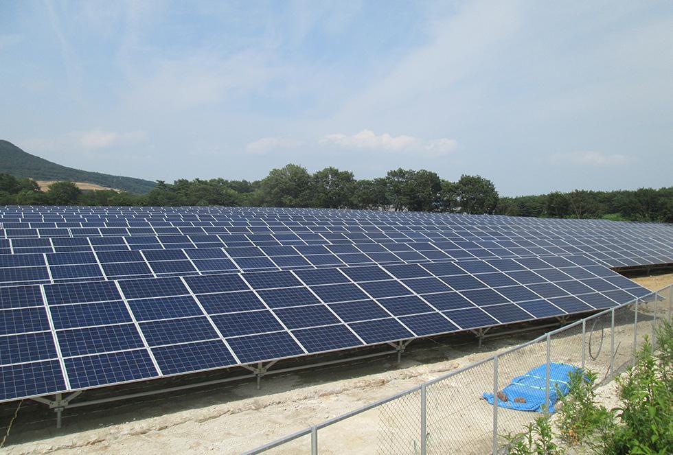 MKソーラー二本松(太陽光発電事業)