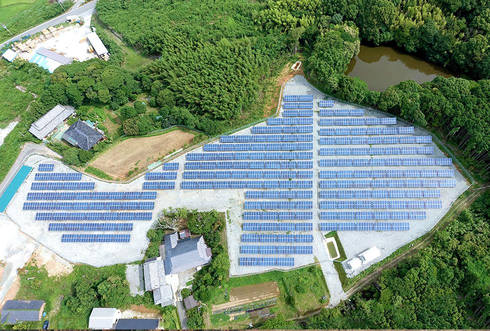M&Kソーラー宗像(太陽光発電事業)